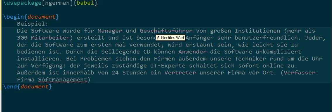TeXstudioBeispiel2