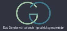 "Logo ""Das Genderwörterbuch geschicktgendern.de"""